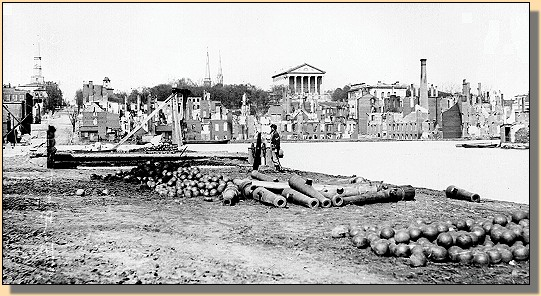 Ruins in front