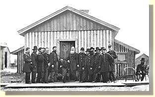 Grant's Headquarters - 1864