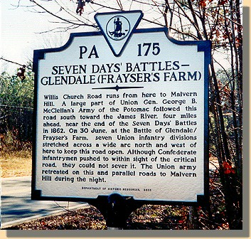 Frayser's Farm - Sign