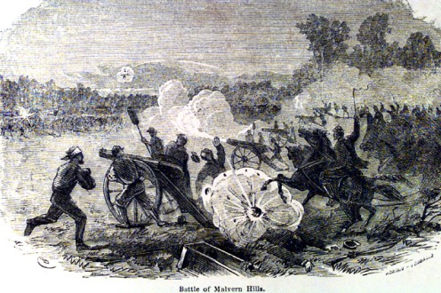 Battle of Malvern Hill Painting