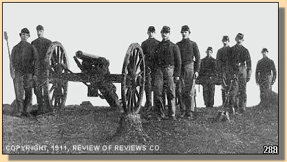 Gunners that repulsed Pickett's Charge