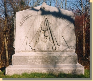 29th Ohio Infantry Monument