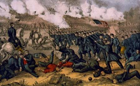 Battle of Fredericksburg, Va. Dec 13th 1862