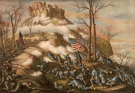 Battle of Lookout Mountain--November 24' 1863