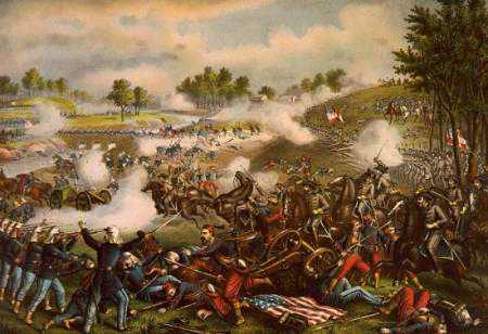 July 21st 1861 Manassas Battle print