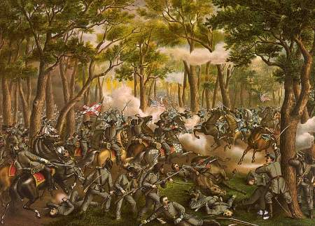 Battle of the Wilderness --- May 6th, 1864