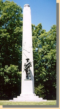 Confederate Monument Confederate Monument At Fort Donelson